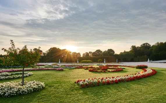Schlosspark Schonbrunn Osterreichische Bundesgarten